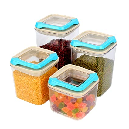 Buy HOKIPO Airtight Plastic Storage Kitchen Container Sets with