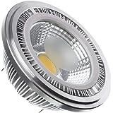 Bombilla LED AR111 COB 7W Blanco Cálido 3000K efectoLED