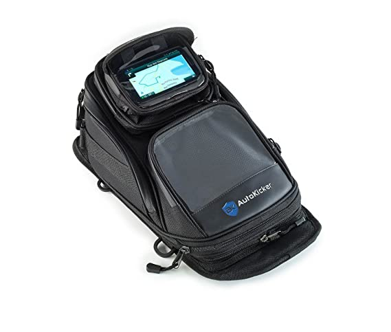 4de297b8dd Autokicker® WanderLust GPS Travel Tank Bag For Motorbikes and Motorcycles   Amazon.co.uk  Car   Motorbike