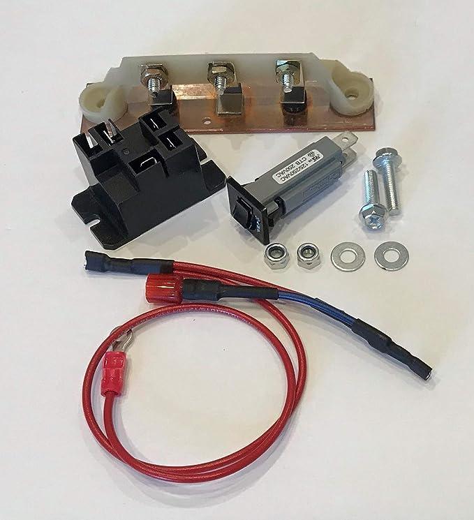 Amazon.com: Club Car Powerdrive Cargador de batería Kit de ...