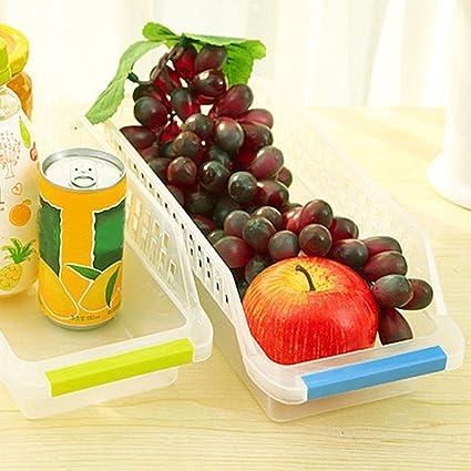 JRing - Organizador de almacenamiento para frigorífico, con mango ...