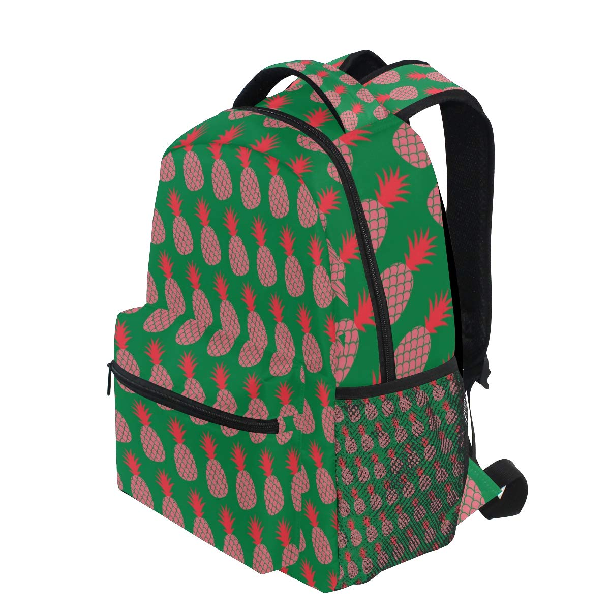 676da9227b24 Amazon.com: Pink Pineapple Sketch Pop Art Trekking Backpack Fashion ...