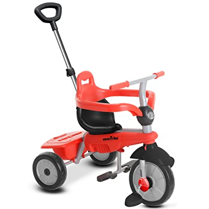 f09b867400e Amazon.com: smarTrike Breeze Baby Tricycle, Red: Toys & Games