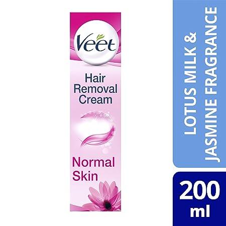 Crema depilatoria Veet de leche de loto y jazmín de 200 ml: Amazon.es: Salud y cuidado personal