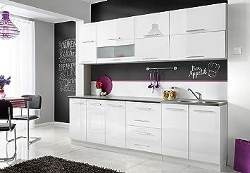 Con Komplette Kuche Moni N 260 Cm Verschiedene Farbkombinationen