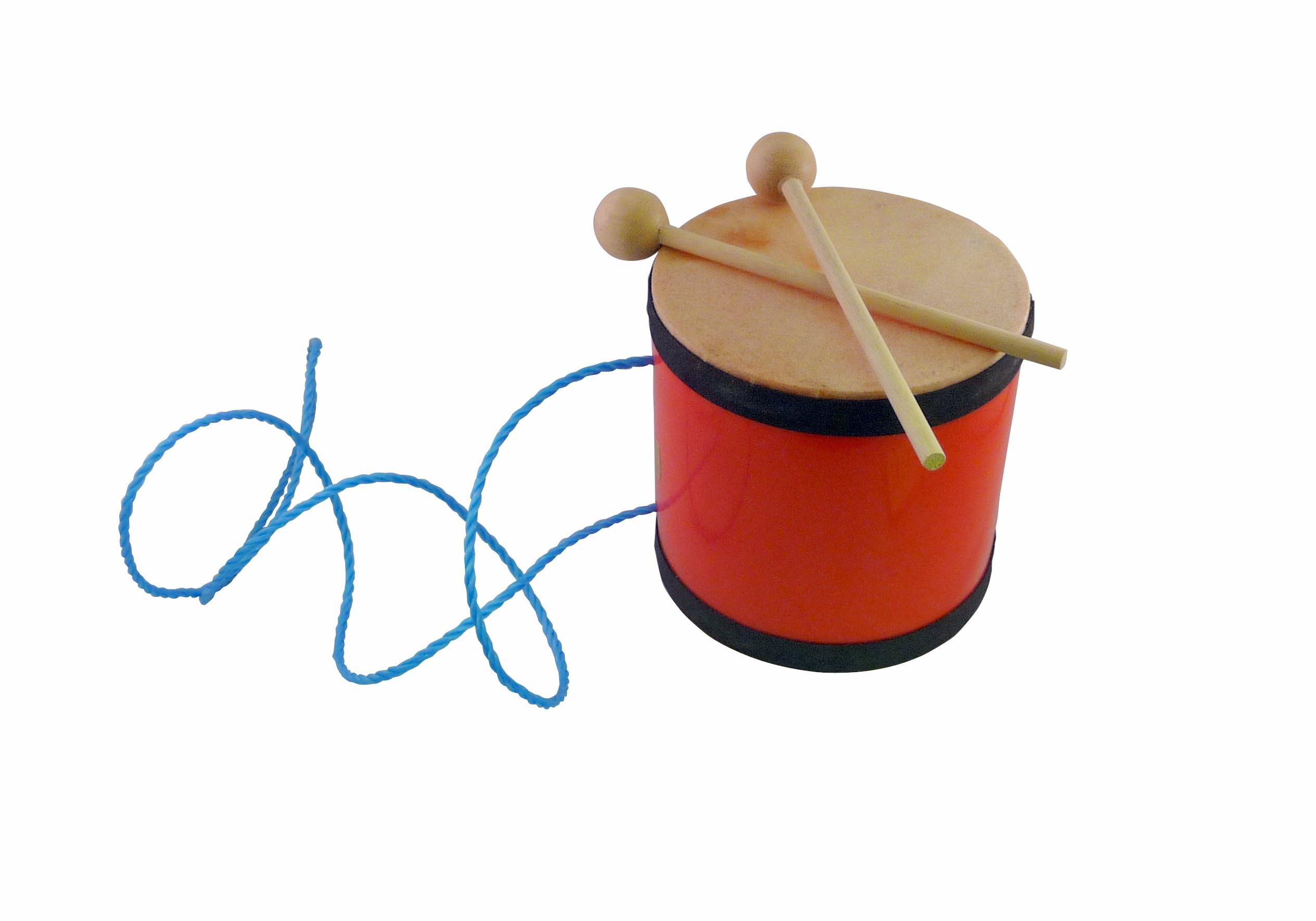 Suzuki Musical Instrument Corporation DD-200 Indian Drum with Mallet - Strap