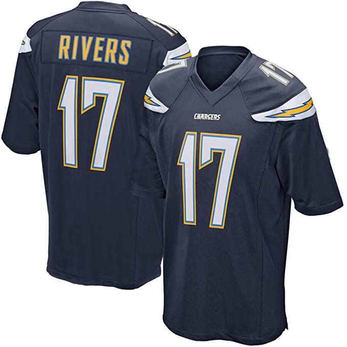 huge discount 91b3b 1ec77 Amazon.com: '47 Mens Los Angeles Chargers Philip Rivers ...