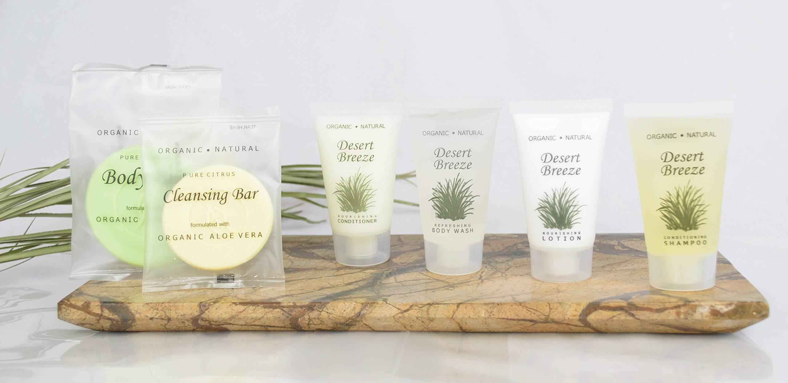 Desert Breeze Bar Soap, Travel Size Hotel Amenities, 0.5 oz (Case of 30)