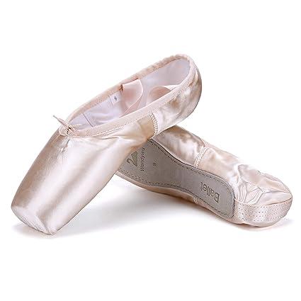conseguir baratas Venta de liquidación 2019 información para WENDYWU Professional Zapatillas de Ballet Danza Pointe ...