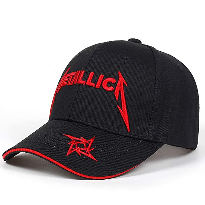 FUZE Baseball Cap Women Hats Fashion Snapback Caps Men Hip Hop Cap  Metallica Baseball Caps