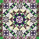 Quilt Kit Hexagon Stars, Purples