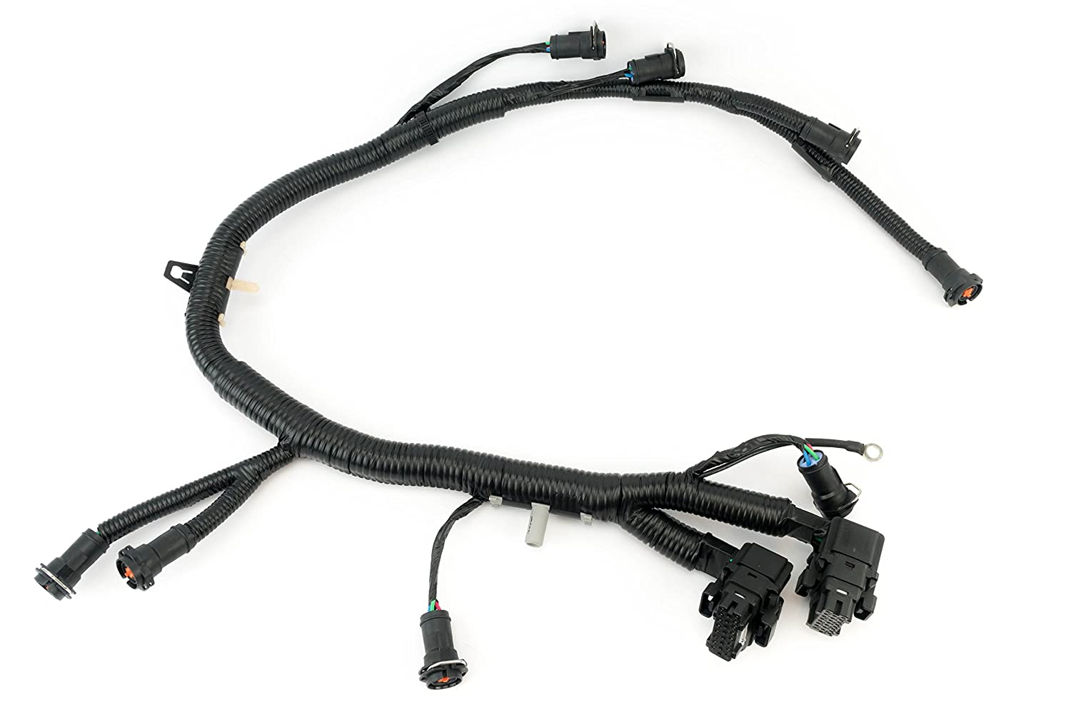Amazon.com: FICM Engine Fuel Injector Complete Wire Harness ...