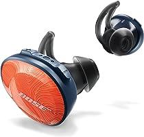 Fones de Ouvido sem Fio SoundSport Free, Bose, Laranja/Azul