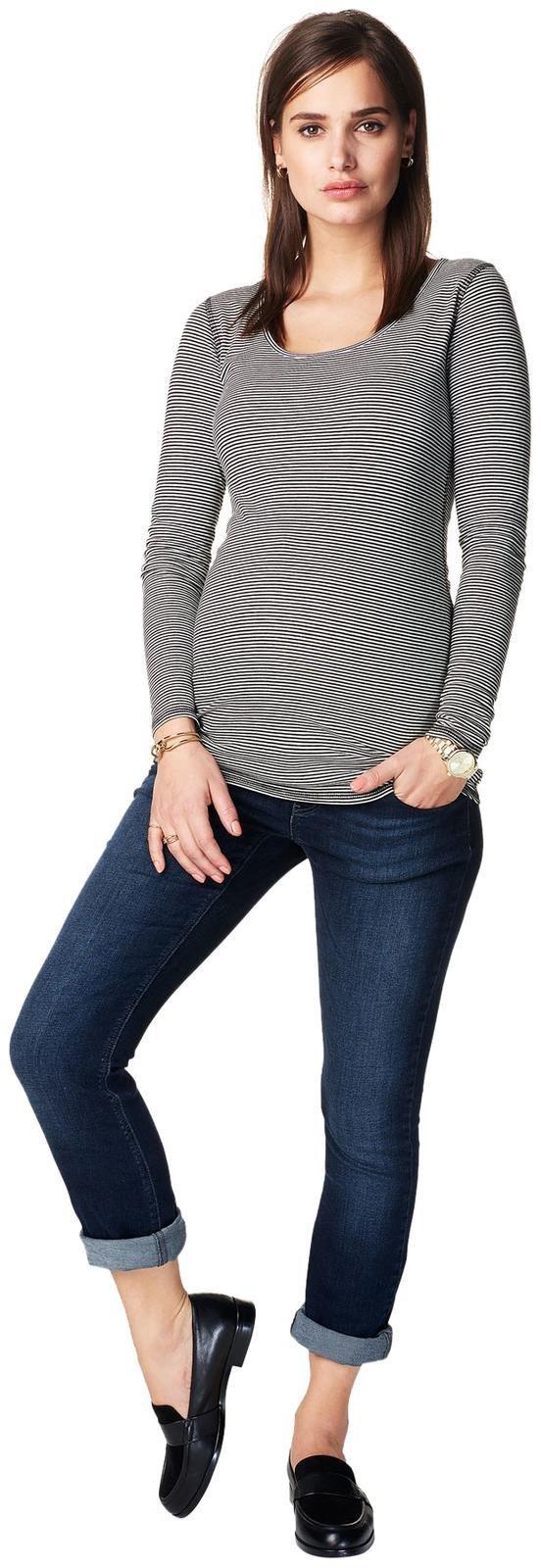 Noppies Women's Maternity Jeans Otb Reg Ann, Mid Blue, 33