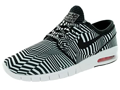 on sale ff996 5d333 Nike SB Stefan Janoski Max Chaussures Sneakers Mode Homme Noir Blanc T 45,5