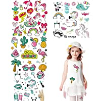 Kids Iron on Patches Appliques Stickers Summer Travel Series Cartoon Heat Transfer Stickers for Clothing, Jeans, Bag…