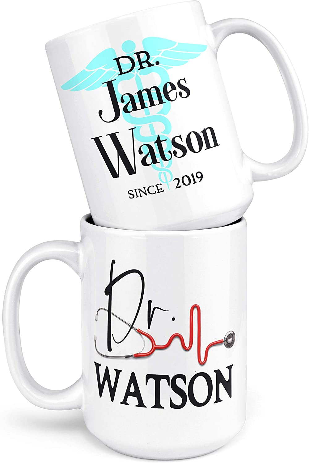 Red Anatomical Heart Coffee Mug Anatomy Doctor Nurse Practitioner Physician Assistant Goth Gift