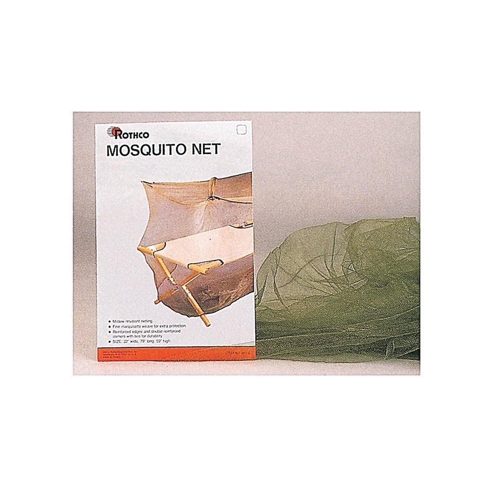 "Rothco Mosquito Netバー、79 "" x 32 "" x 59、"" Olive Drab B00KLD4OF8"