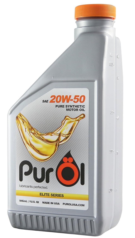 purol Elite Aceite sintético de motor 20 W50: Amazon.es ...