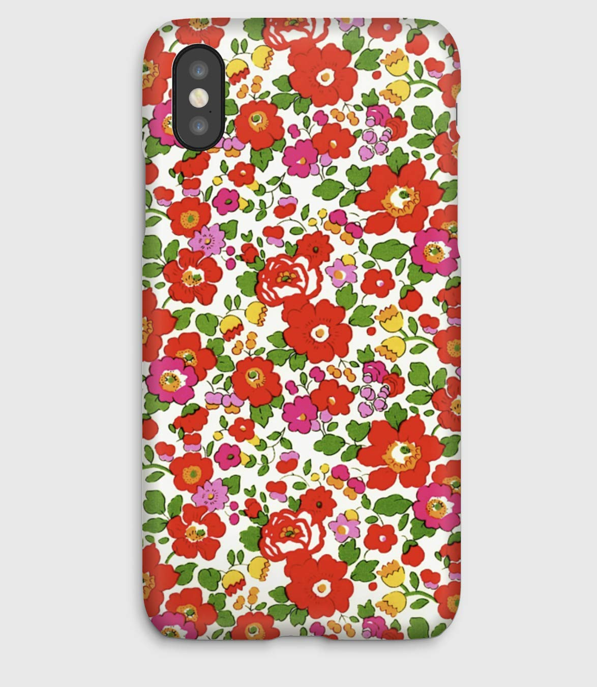 Liberty Betsy S, coque pour iPhone XS, XS Max, XR, X, 8, 8+, 7, 7+, 6S, 6, 6S+, 6+, 5C, 5, 5S, 5SE, 4S, 4,