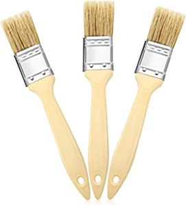 3 Pieces 1 Inch Landscape Brush Oil Based Painting Tools Background Blender Brush Painting Brushes