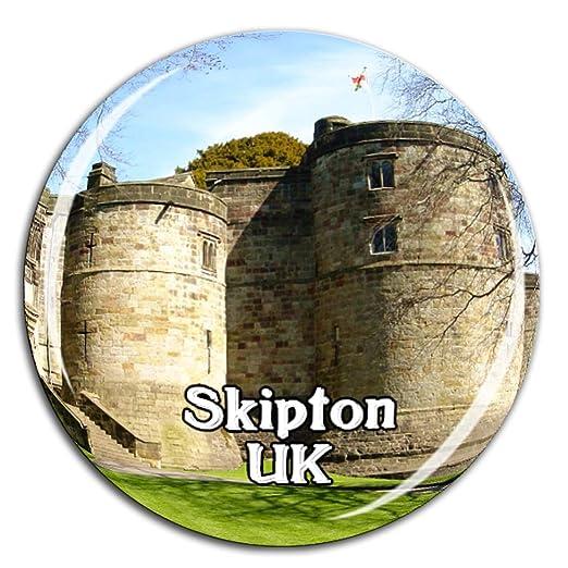 Weekino Souvenir Skipton Castle Inglaterra Reino Unido Imán de ...