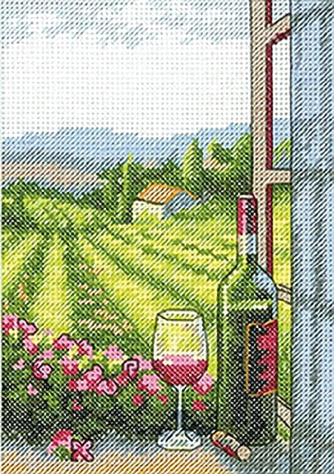 Amazon.com: Dimensions Needlecrafts Counted Cross Stitch, Weekend In Paris