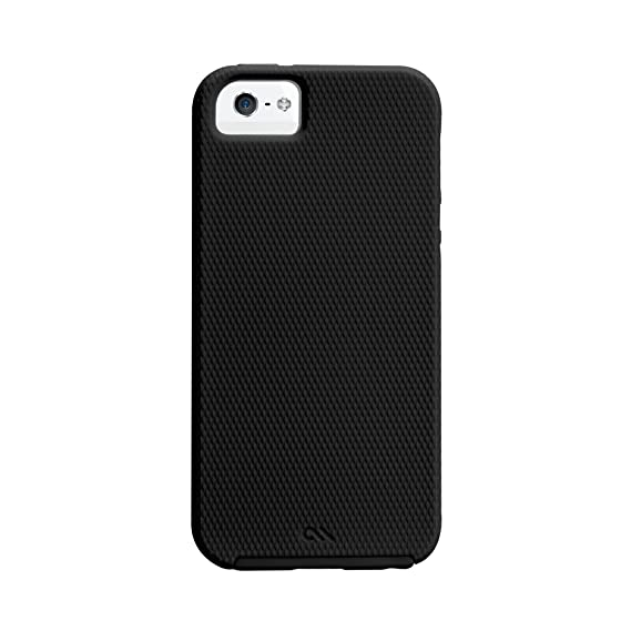 check out dfa4f e34d9 Case-Mate Tough Hardshell Case Cover for iPhone SE 5s 5 - Textured Black