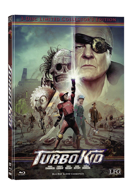 Turbo Kid (+ DVD) (+ Bonus-DVD) [Alemania] [Blu-ray]: Amazon.es: Munro Chambers, Laurence Leboeuf, Michael Ironside, Francois Simard, Anouk Whissell, ...