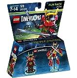 Figurine 'Lego Dimensions' - Nya - Lego Ninjago