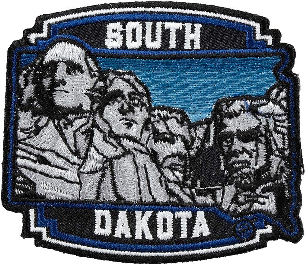 South Dakota Mount Rushmore Monument  Souvenir Iron On Patch