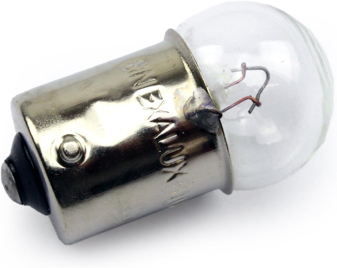 10x Stück Jurmann R10w 12v 10w Ba15s Werkstattware Blinkleuchte Halogen Lampen Autolampen Kfz Beleuchtung Birne Auto