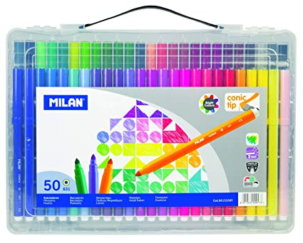 Amazon.com : Milan 615350Y - Felt Tip Pens : Office Products