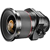 Walimex Pro 24 mm f1:3,5 Festbrennweite manueller Fokus Tilt – Shift –Objektiv für Canon EF Mount Kamera Objektiv für Spiegelreflexkamera Canon EOS 5D 77D 1300D C200 C300 Mark II 5D Mark IV