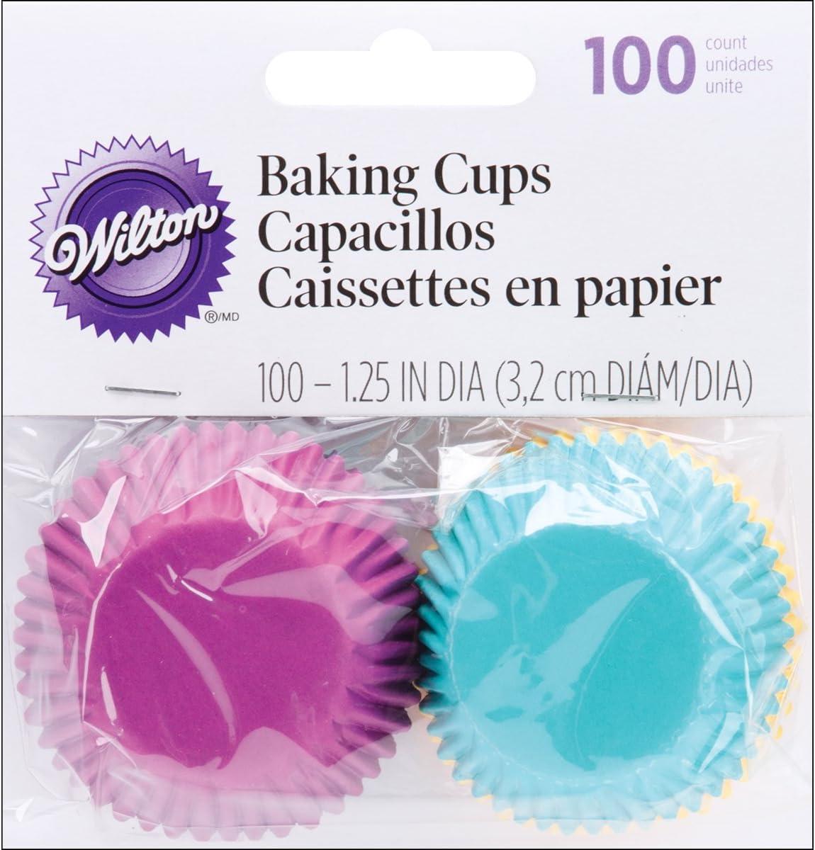 Wilton Baking Cups, Jewel Assorted, 100 ct