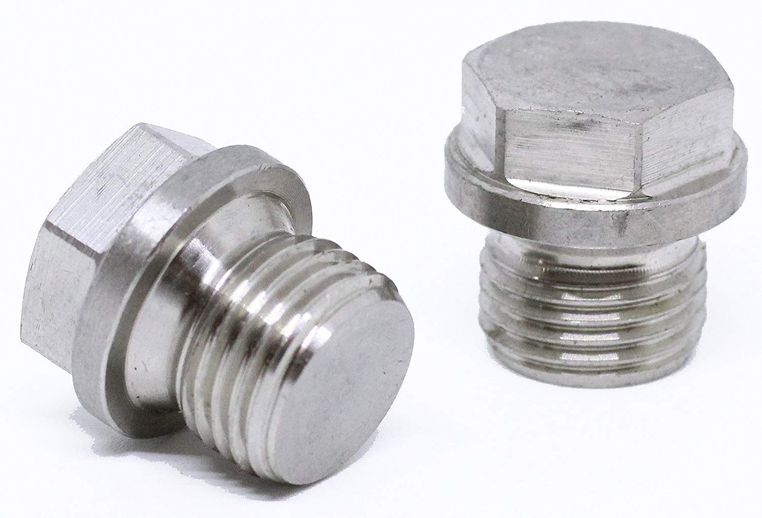 1pc BelMetric M20X1.5 Flanged A2-70 Stainlesss Steel Hex Head Plugs DIN 910 for Machinery and Fittings Sealing Washers Included DP20X1.5HSS