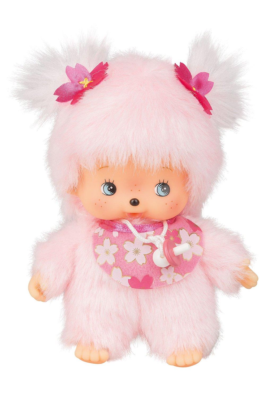 Amazon.com: Sekiguchi 242443 Bebich Hichi Cherry Blossom, 16 cm, Pink: Toys & Games
