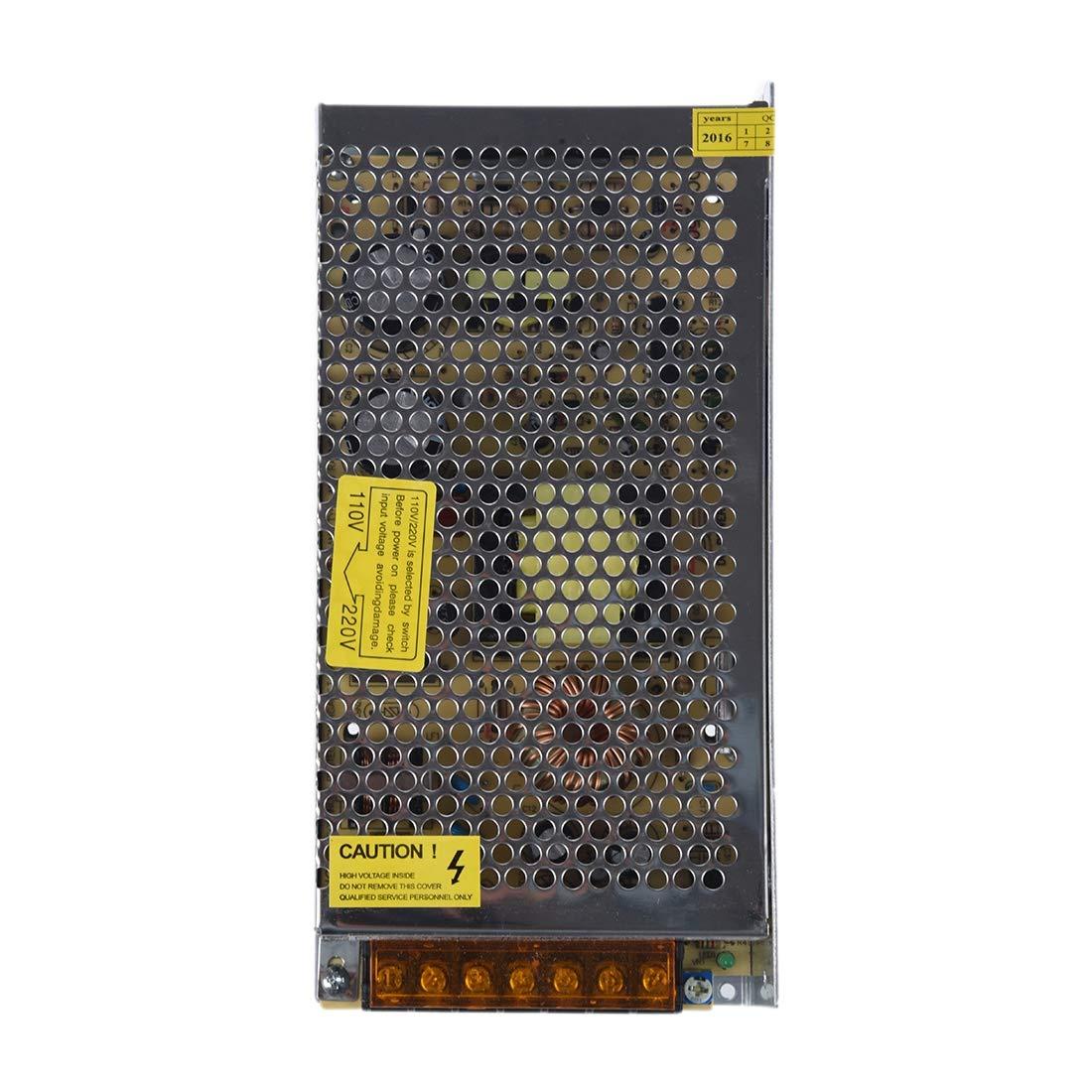 SODIAL(R) DC 12V 150W 12.5A Transformateur d'alimentation de commutation pour bande de lampe LED 110/220V