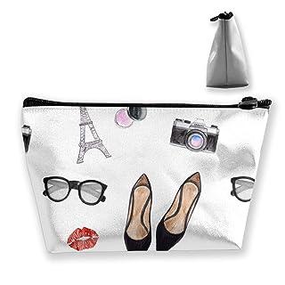 Immagazzinaggio stampato dell'organizzatore del modello di modo di vacanza dell'acquerello di caso di viaggio della borsa di viaggio di trucco per le ragazze delle donne multifunzionali