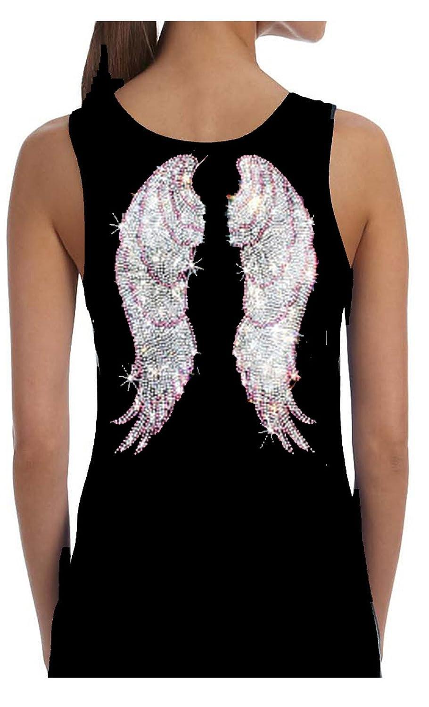 Amazon.com: Alas de ángel de ráfaga de corazón, color rosa ...