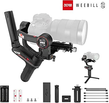 Zhiyun Weebill S estabilizador de cardán de 3 Ejes para cámara ...