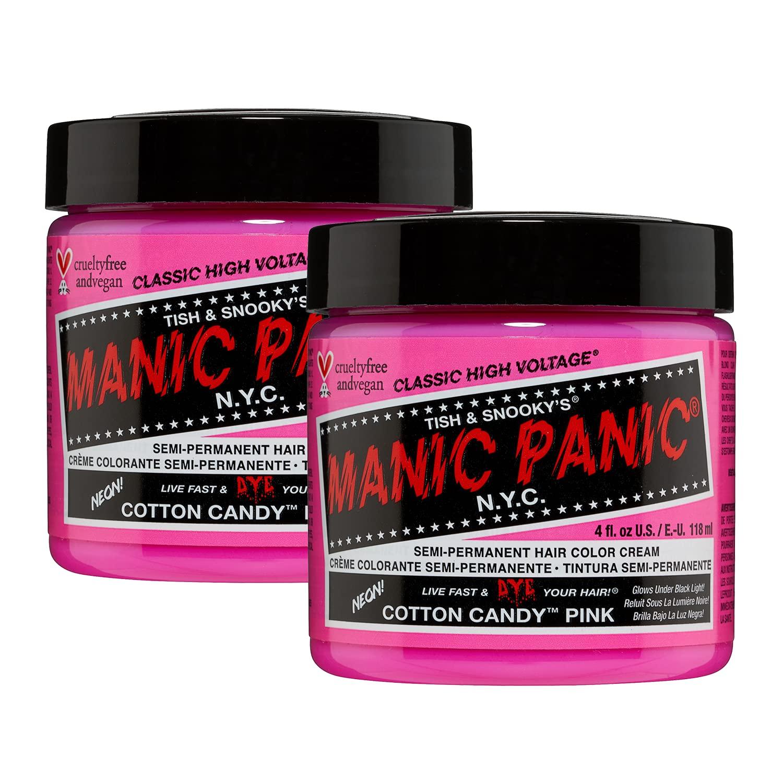 Manic Panic Cotton Candy Pink Hair Dye 2 Pack