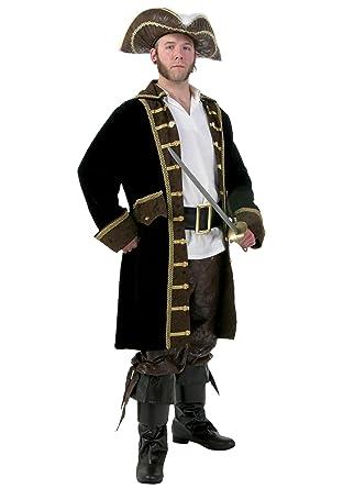 Menu0027s Plus Size Realistic Pirate Costume 6X  sc 1 st  Amazon.com & Amazon.com: Menu0027s Plus Size Realistic Pirate Costume 6X: Clothing