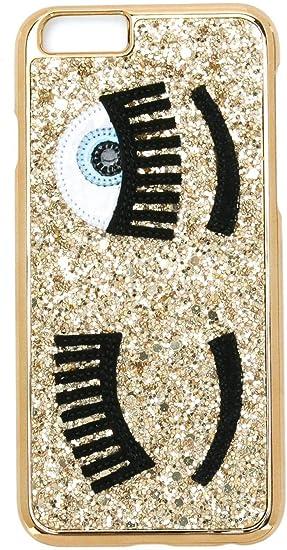 CHIARA FERRAGNI Cover Compatibile iPhone - Glitter Oro: Amazon.it ...