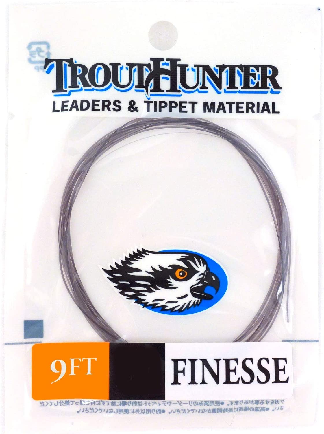 TroutHunter Finesse Leaders 9ft, 3 Pack