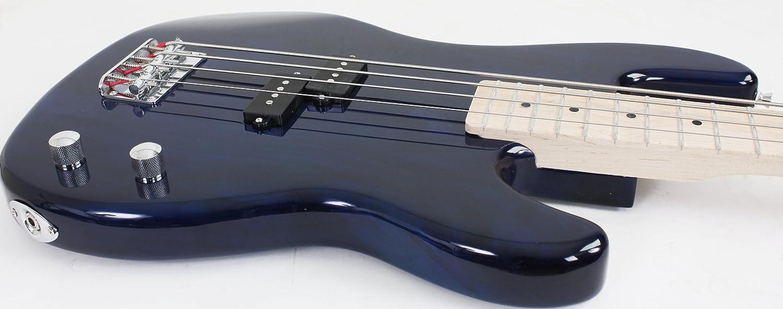 davison guitars full size electric bass guitar starter beginner pack with amp case strap package. Black Bedroom Furniture Sets. Home Design Ideas