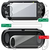 Insten Full Body Reusable Screen Protector Compatible With Sony PlayStation Vita PCH-1000 (PS Vita)