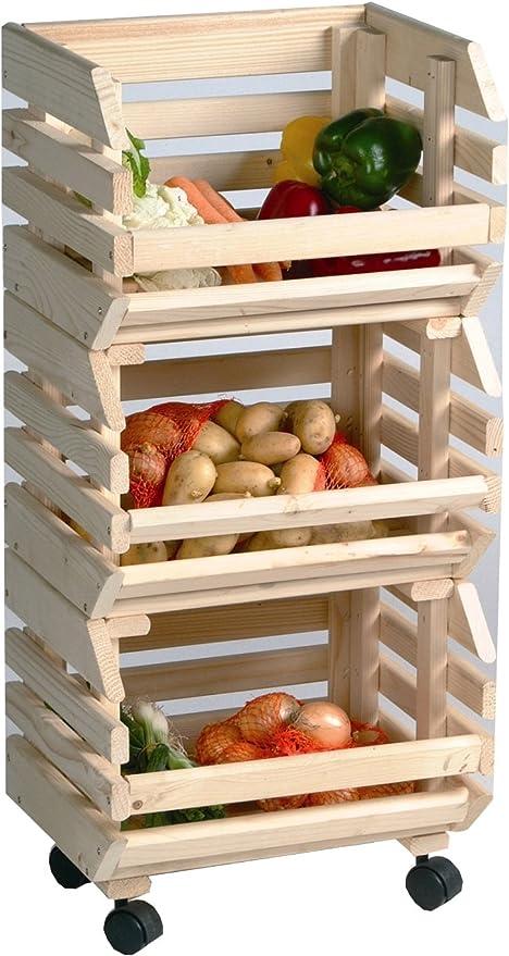Cajas de almacenamiento cajas de fruta patata caja apilable ...