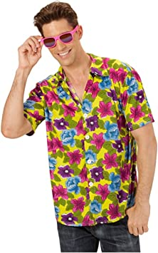 Horror-Shop Camisa Amarilla de Hawai: Amazon.es: Juguetes y ...