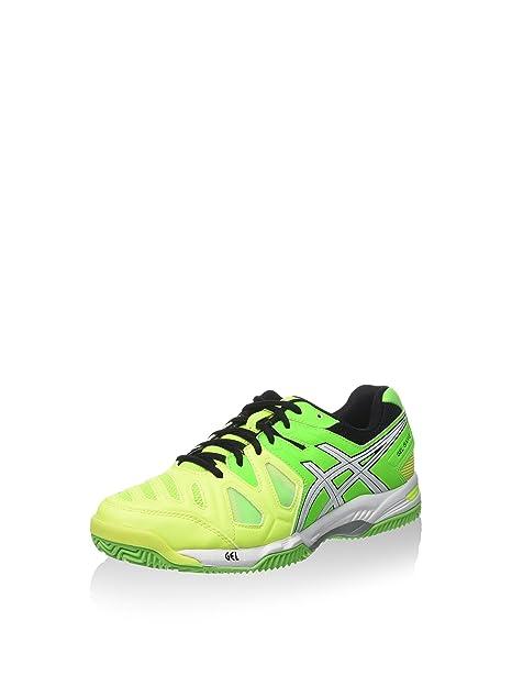 Asics Gel-Game 5 Clay, Zapatillas de Tenis para Hombre, Amarillo ...